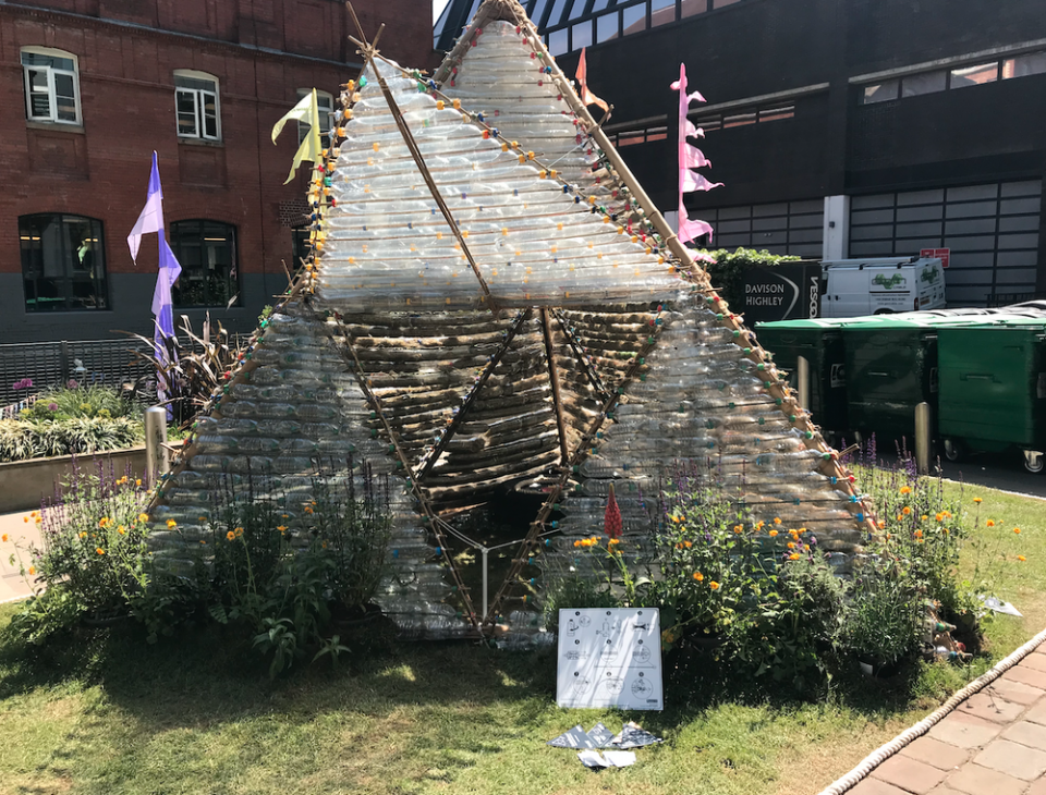 BottleHouse at Clerkenwell Design Week 2019